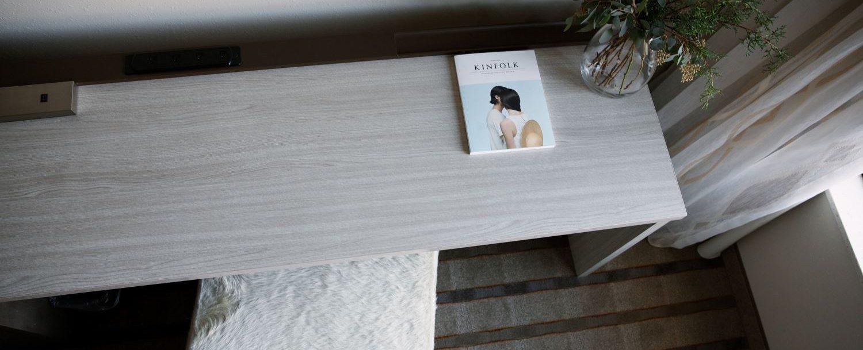 Kinfolk book on table