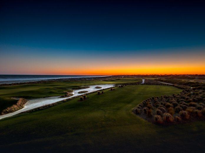 Amazing ocean-side view of Kiawah Island golf courses