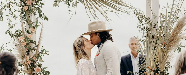 Wedding Couple at Andell Inn